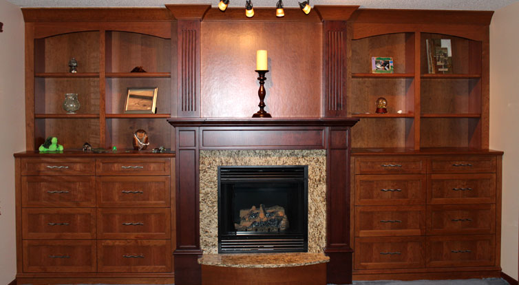 JC Cabinets, LLC Custom Living Rooms